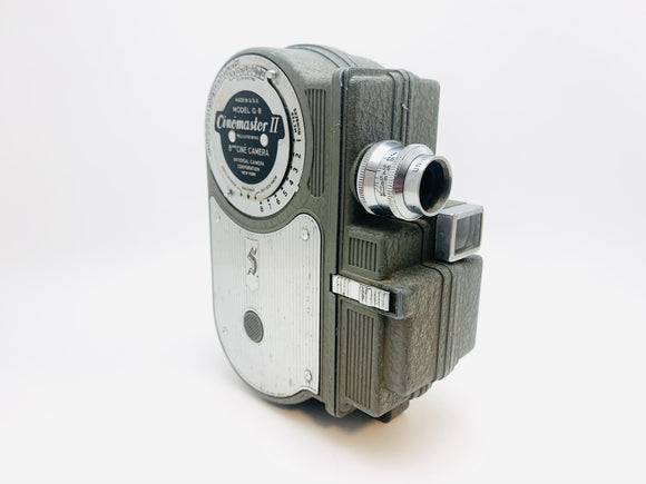 1946 Univex Cinemaster II G8 8mm Movie Camera