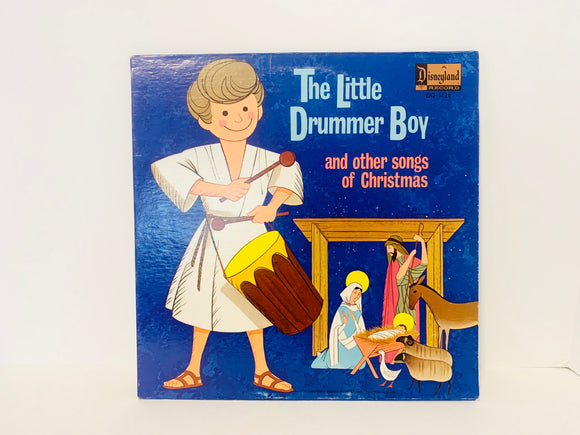 1968 The Little Drummer Boy and Other Songs of Christmas Disneyland LP Record
