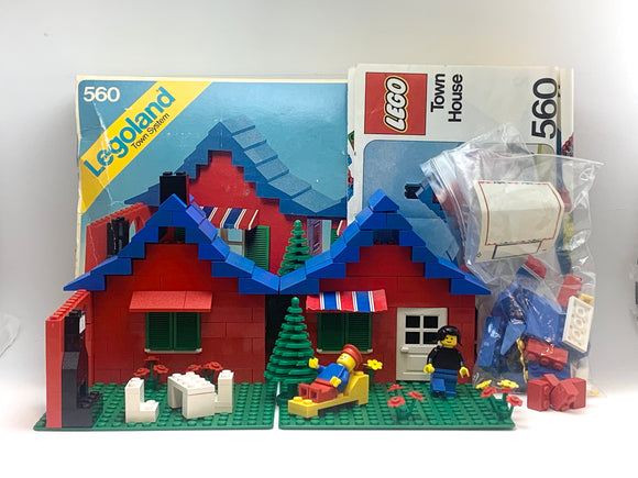 1978 Legoland Town House Set in Original Box - almost complete