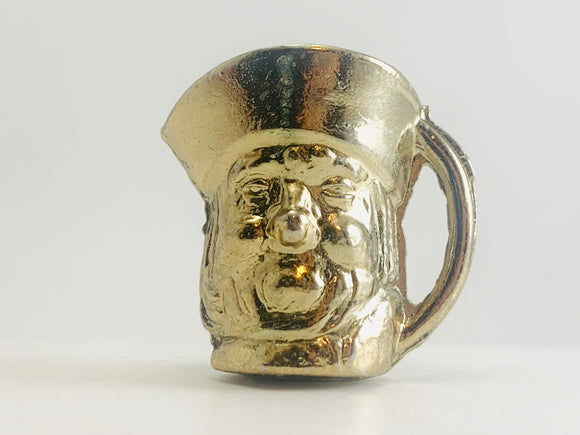 Vintage Miniature Brass Toby Mug Made in England