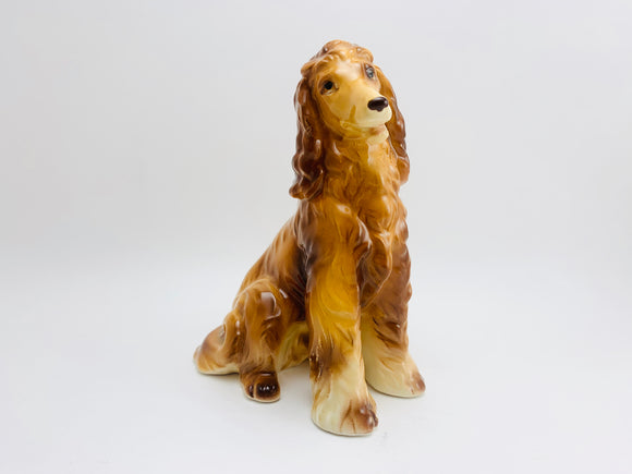 1960's Giftcraft Japan Afghan Hound Dog Figurine