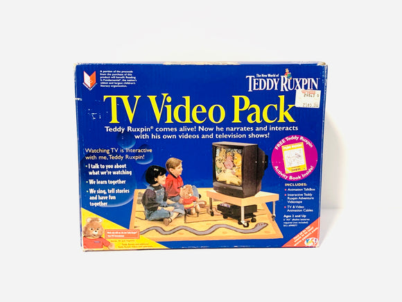Teddy Ruxpin TV Video Pack