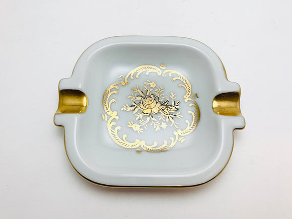 Vintage Lefton ESD Japan Floral Ashtray 22881