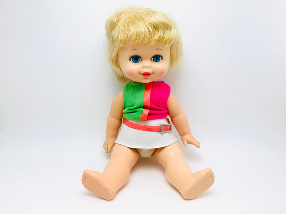 1967 Mattel Sister Small Talk Doll