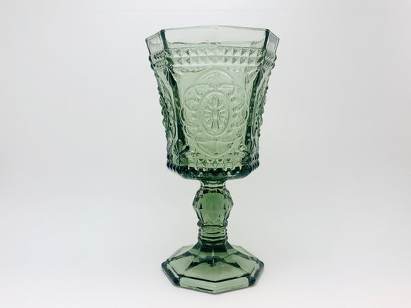 Vintage Glass Goblet