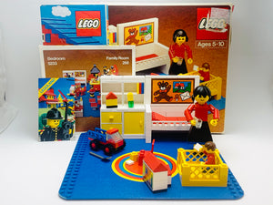 1979 Lego Bedroom Set in Original Box - not complete