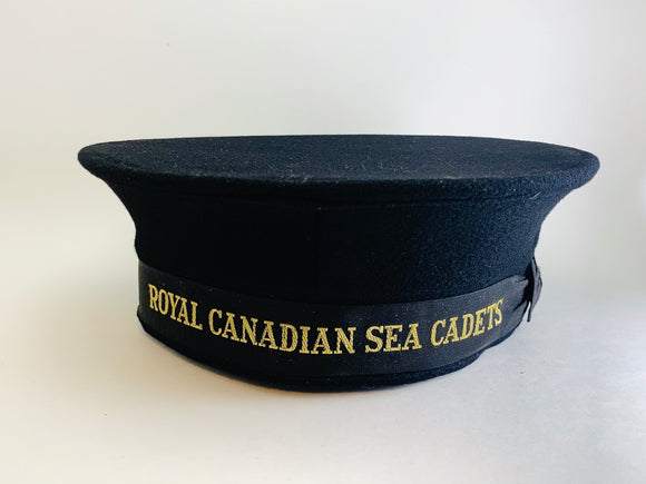1944 Royal Canadian Sea Cadet Hat, Rogers -Raymond