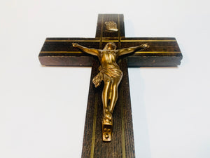 SOLD! 1950's Solid wood Cross