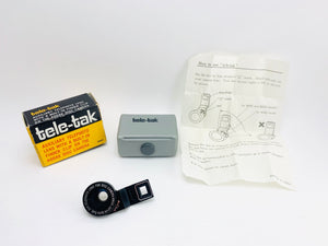 Hirox Tele-Tak Auxiliary Telephoto Lens for Kodak Disc Cameras in Box