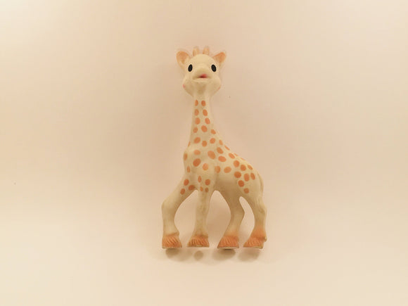 SOLD! Vintage rubber toy Sophie the Giraffe