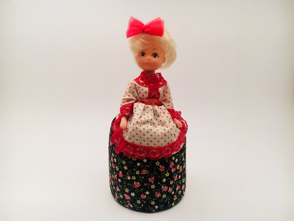 Collectible Pin Cushion doll from the 80's