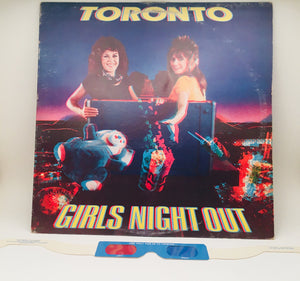 Toronto, Girls Night Out LP Record 3D vinyl album cover