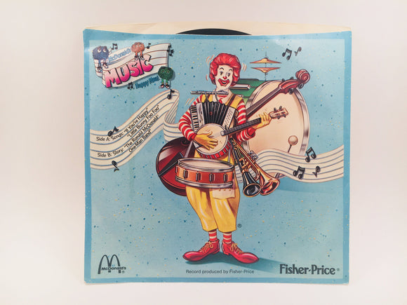 McDonalds Music Record produced by Fisher Price