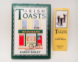 1987 Irish Toasts Illustrated by Karen Bailey