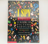 SOLD! I Spy Mystery, A Book of Picture Riddles