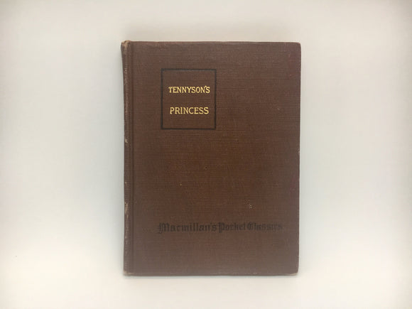 1920 Tennyson's Princess by Alfred Lord Tennyson