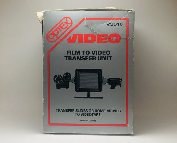 Optex Film to Video Transfer Unit VS610