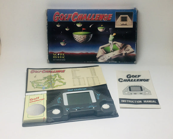 Vintage Golf Challenge Microprocessor Game