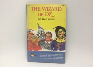 1963 The Wizard of Oz to Read Aloud, Wonder Books