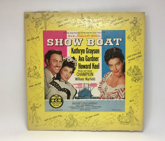 1951 Show Boat Musical LP First Release