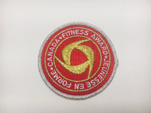 SOLD! 1970's Gold Canada Fitness Award Patch