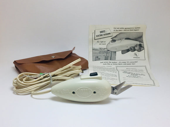 1965 Dritz Electric scissors