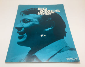 1966 Ed Ames Favourite Songs Music Book