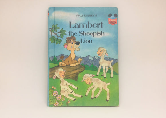 SOLD! 1st American Edition, Disney's Lambert the Sheepish Lion