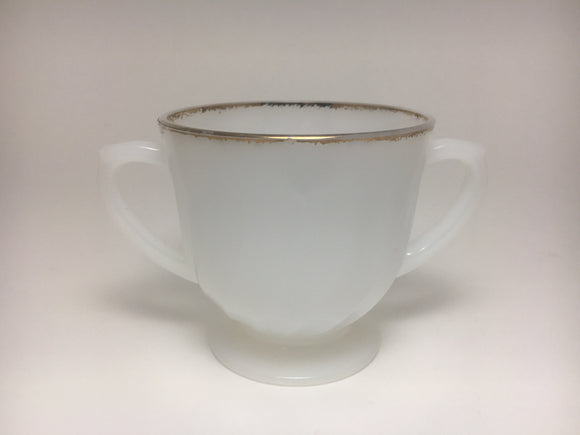 Fire King Milk Glass Sugar Cup