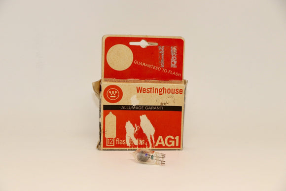 Westinghouse AG1 Flash Bulbs, pkg of 12