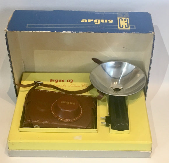 1954 Argus C3 Film Camera in Box