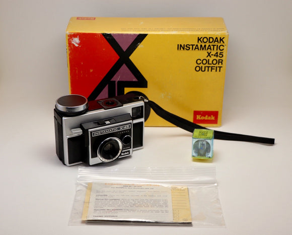 1970-74 Kodak Instamatic X-45 in Original Box