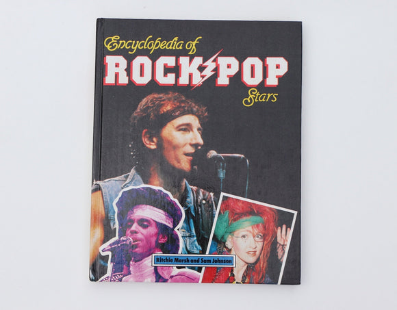 1985 Encyclopedia of Rock Pop Stars