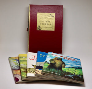 SOLD! 1960's National Audubon Society Nature Program books with stamps