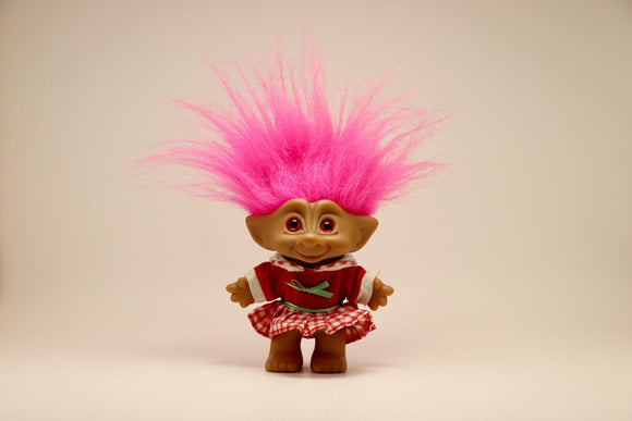 1980's Ace Novelty Pink Treasure Troll