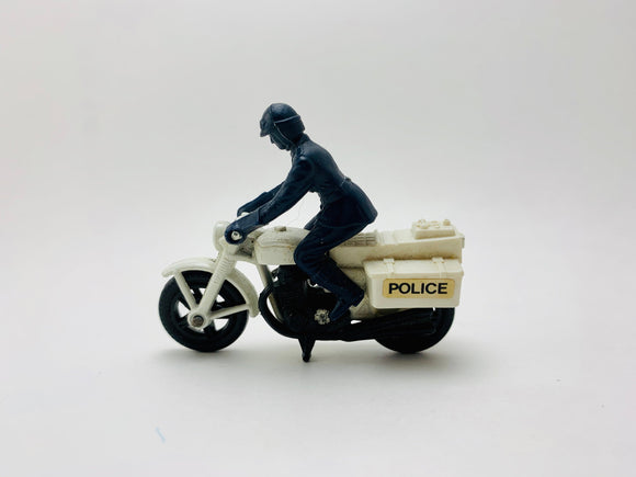 SOLD! 1977 Lesney Matchbox Honda 750 Police Motorcycle No. 33