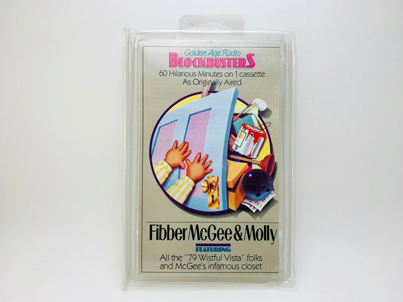 Fibber McGee and Molly, Golden Age Radio Blockbusters Cassette