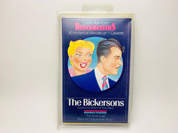 The Bickersons Golden Age Radio Blockbusters Cassette, Double Feature