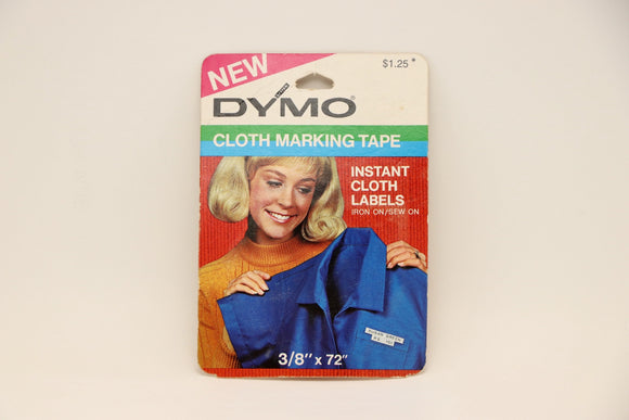 1970's Dymo Embossing Cloth Marking Tape