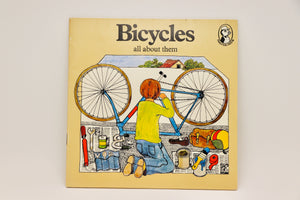 1976 Bicycles all about them, Puffin Book