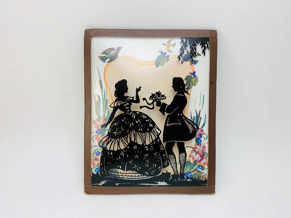 1940's Curved Glass Silhouette Small Picture