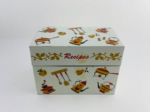 SOLD! 1950's Ohio Art Company Recipes Tin