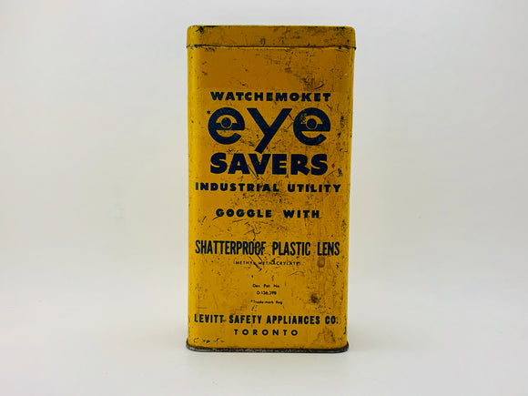 1940's Watchemoket Eye Savers Tin