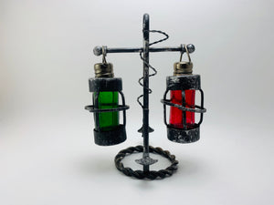 SOLD! 1950's Nautical Salt and Pepper Shakers on Anchor Stand