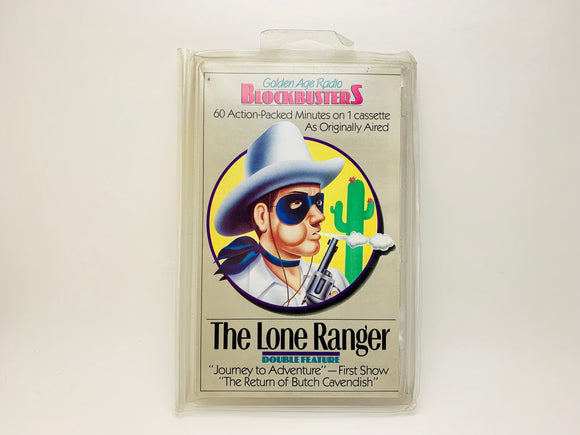 The Lone Ranger, Golden Age Radio Blockbusters Cassette