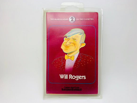The Best of Will Rogers, Golden Age Radio Blockbusters Cassette