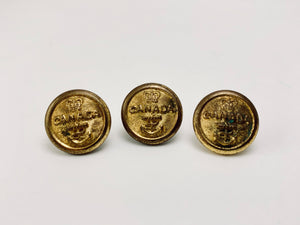 1950's Firman London Canadian Navy Buttons