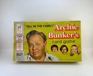 1972 Archie Bunker's Card Game - Complete
