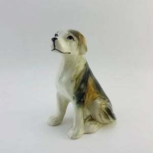 SOLD! 1960's Small Porcelain Dog
