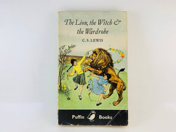 SOLD! 1971 The Lion, The Witch & The Wardrobe, by C.S.Lewis